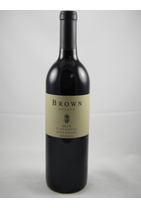 Brown Brown Estate Zinfandel Napa 2017