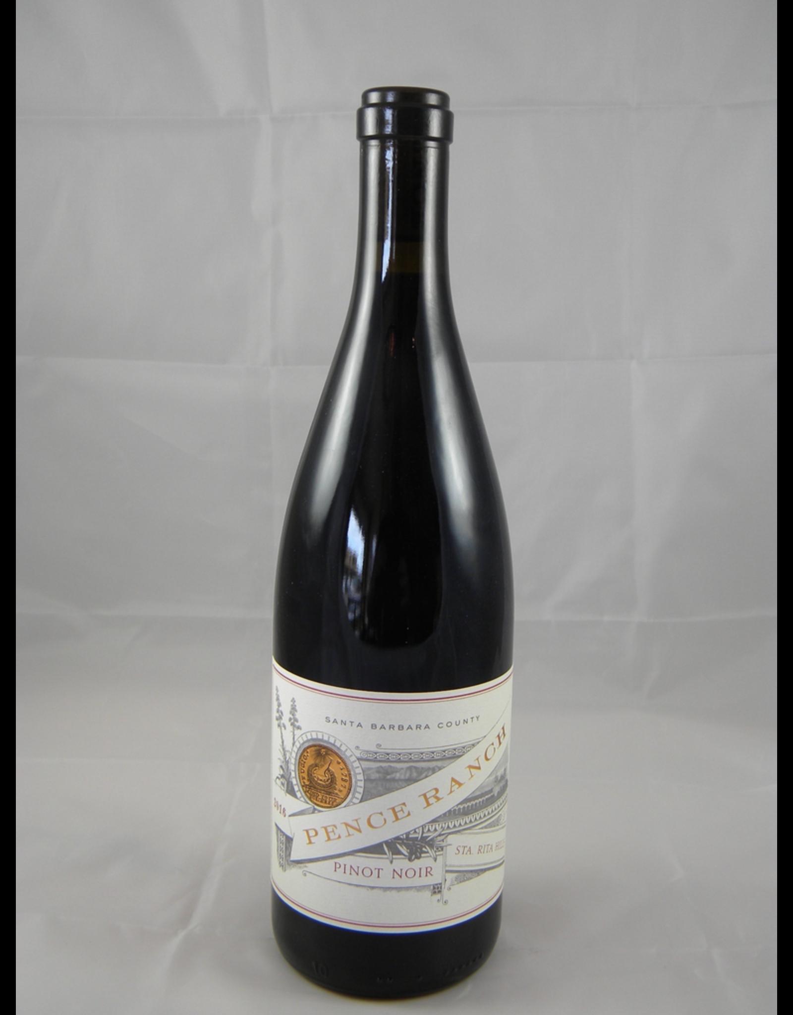 Pence Pence Pinot Noir Santa Rita Hills 2018