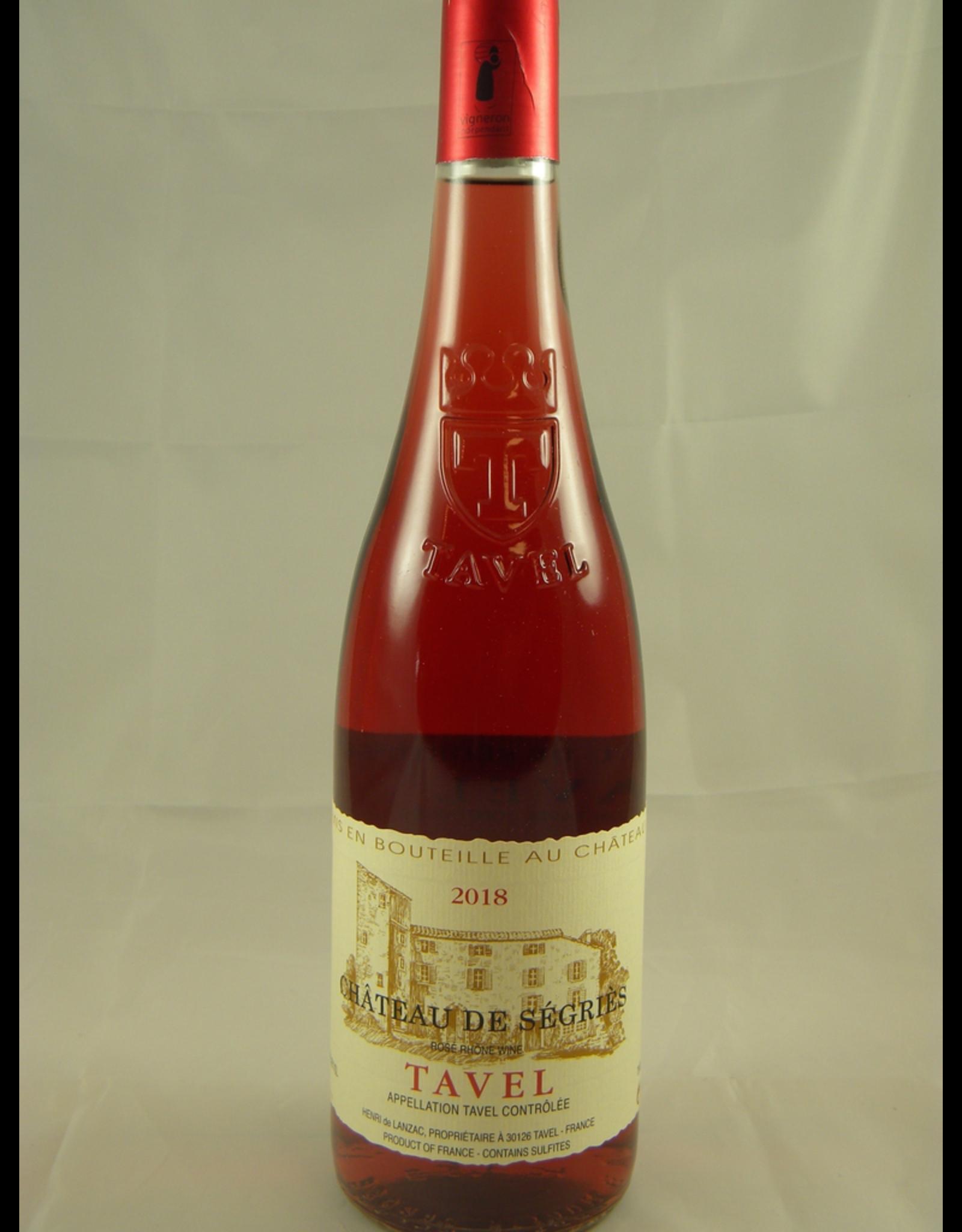 Segries Chateau de Segries Tavel Rosé 2019