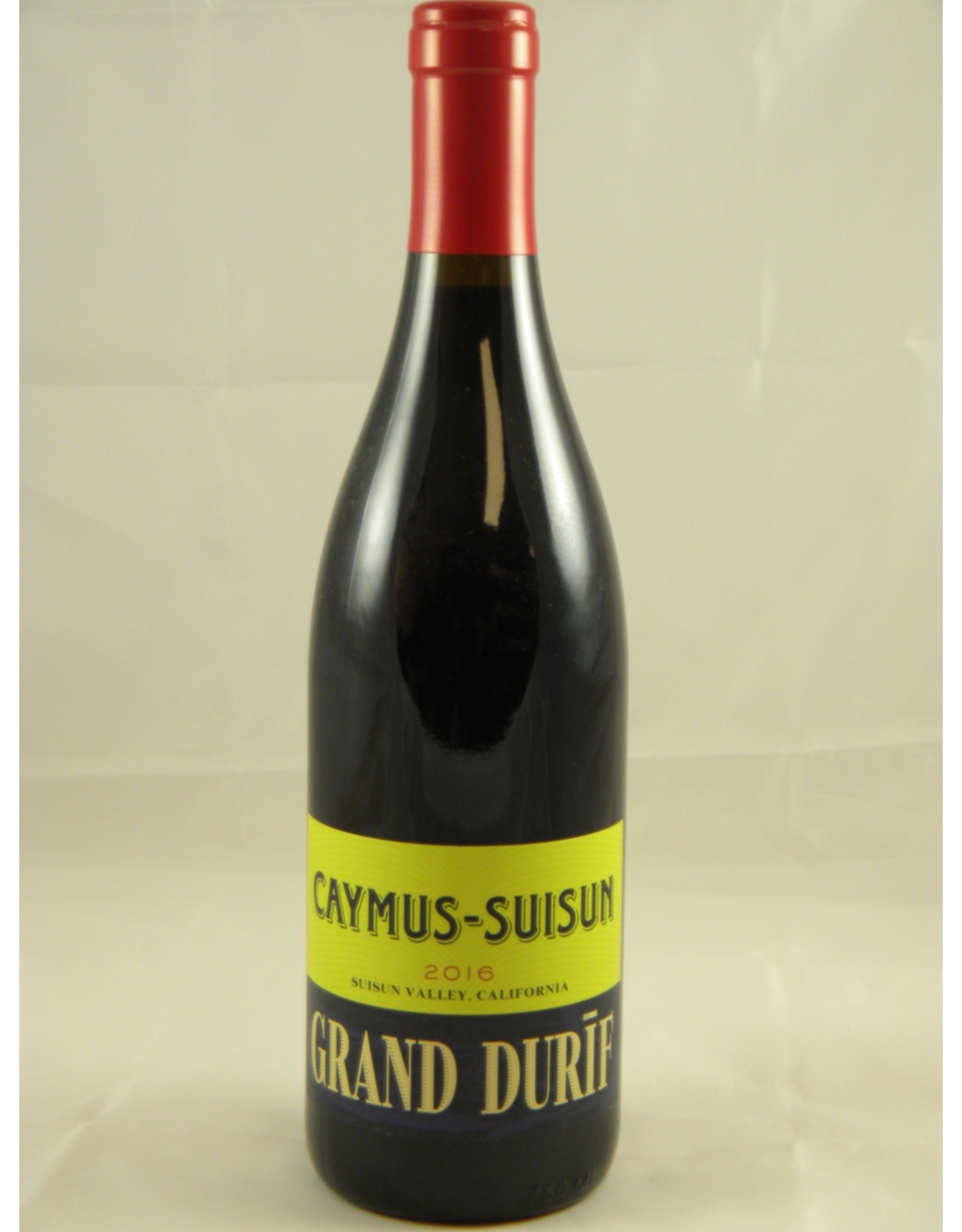 Caymus Caymus Grand Durif Suisun Valley 2017