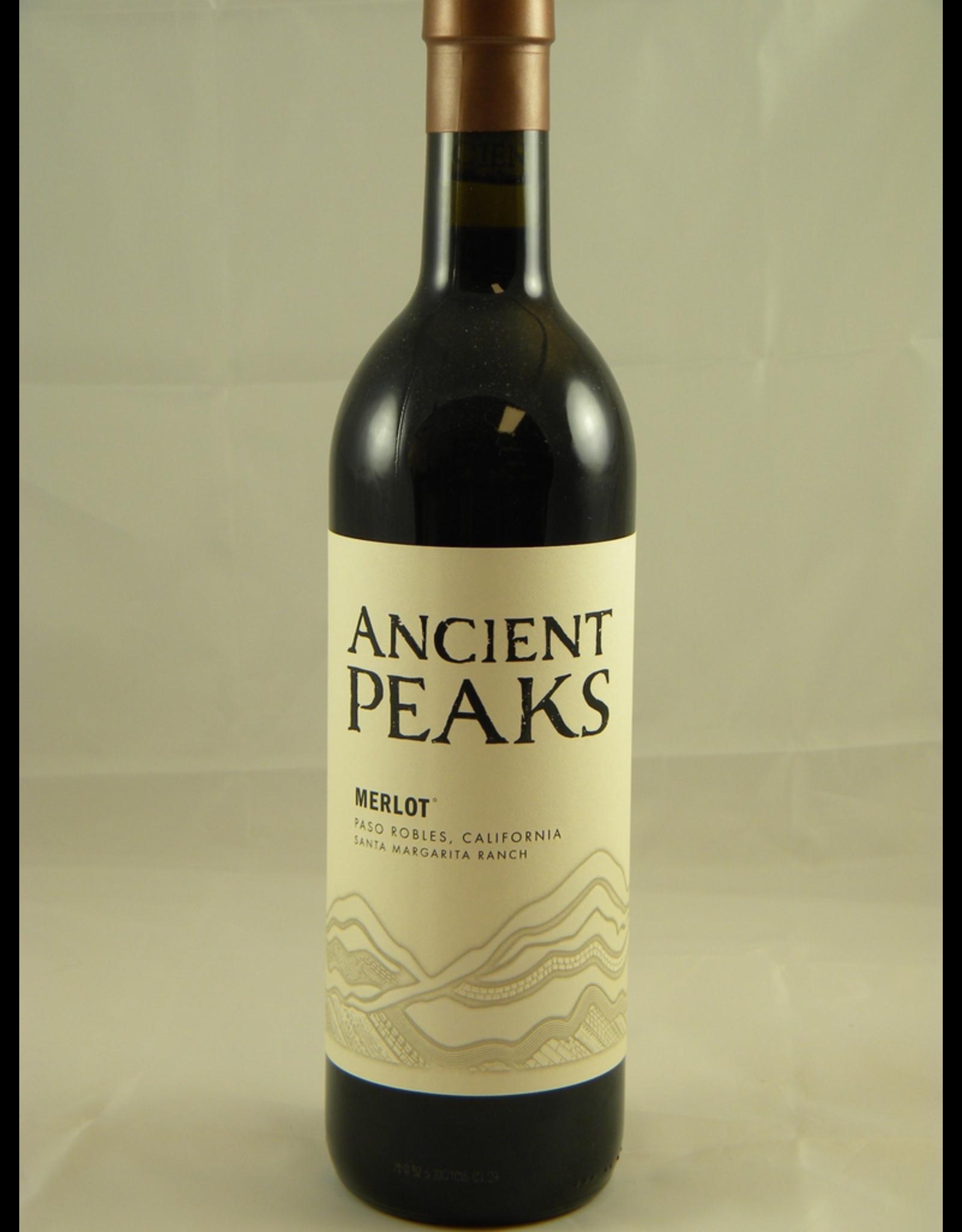 Ancient Peaks Ancient Peaks Merlot Paso Robles Santa Margarita Ranch 2018