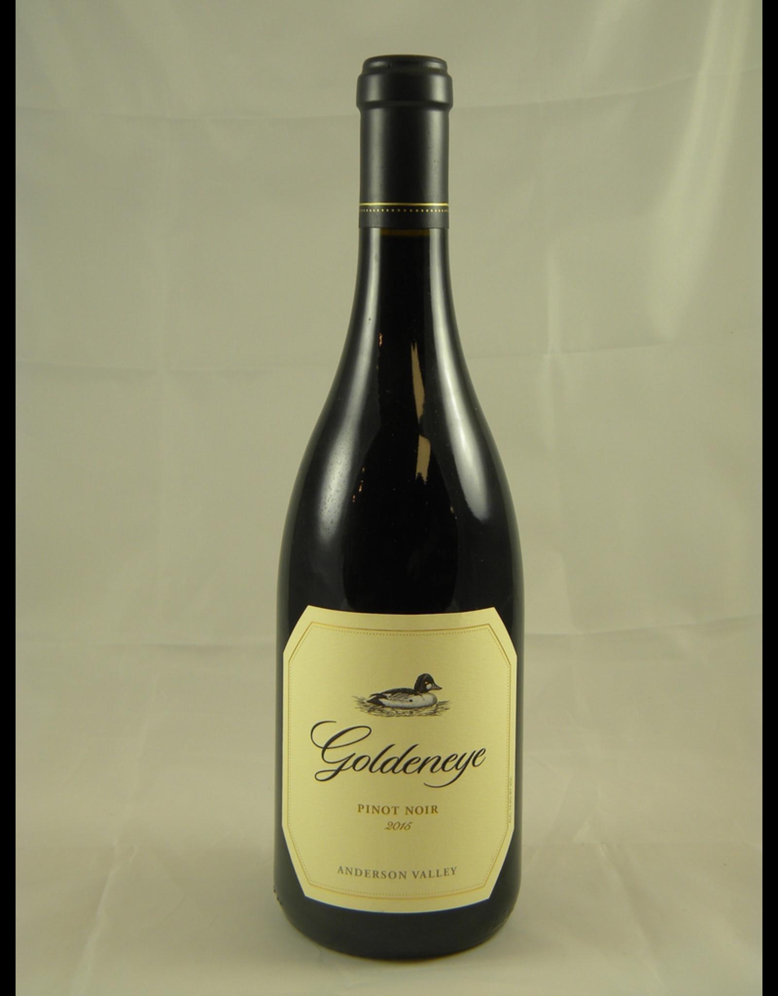 Duckhorn Goldeneye Pinot Noir Anderson Valley 2016