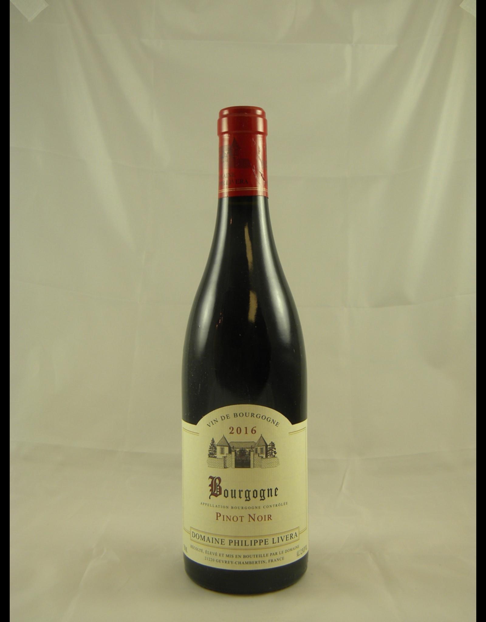 Livera Philippe Livera Bourgogne Rouge 2016