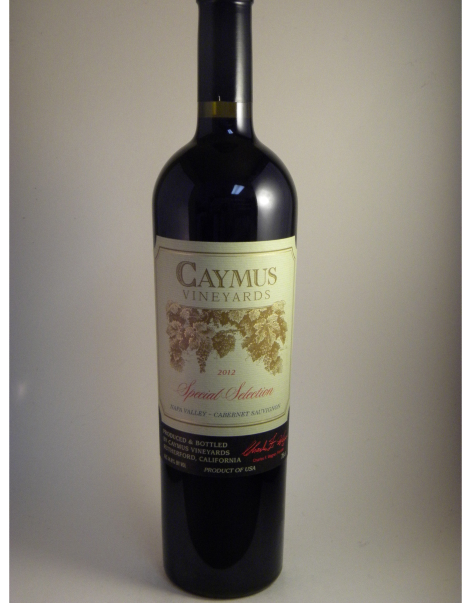 Caymus Caymus Cabernet Napa Special Selection Napa 2016