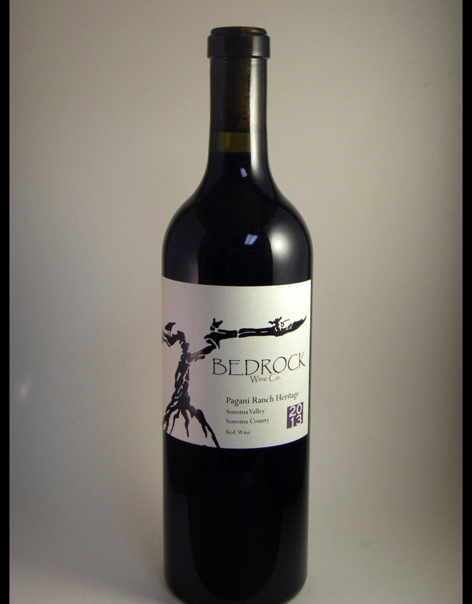 Bedrock Bedrock Wine Co Red Sonoma Pagani Ranch Heritage 2018
