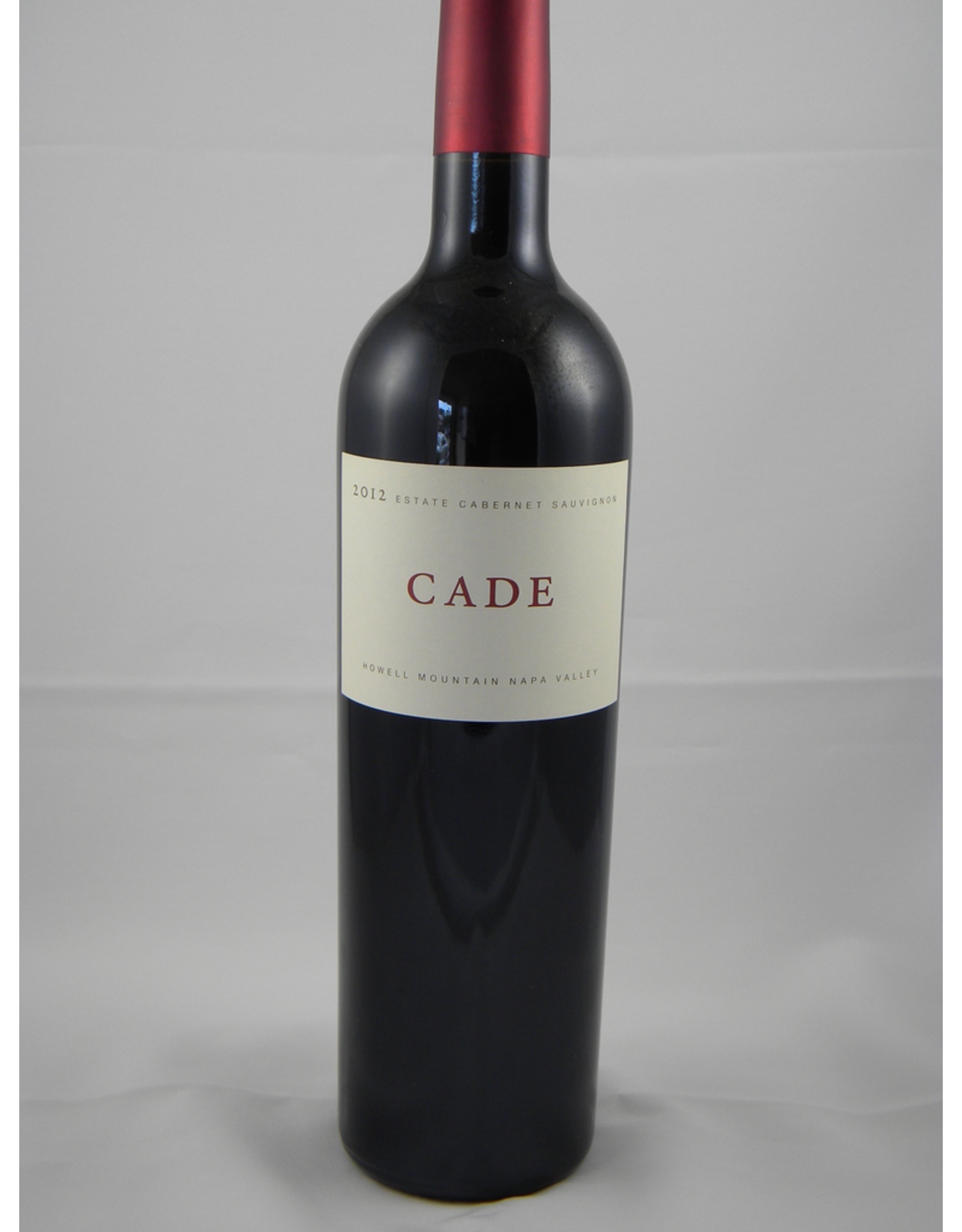 Cade Cade by Plumpjack Cabernet Howell Mountain Estate 2017