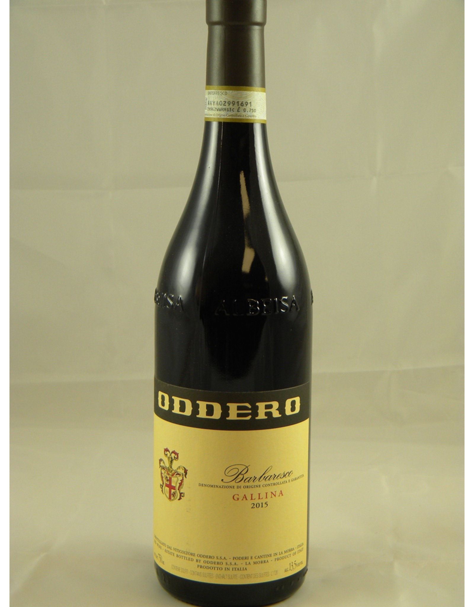 Oddero Oddero Barbaresco Gallina 2015