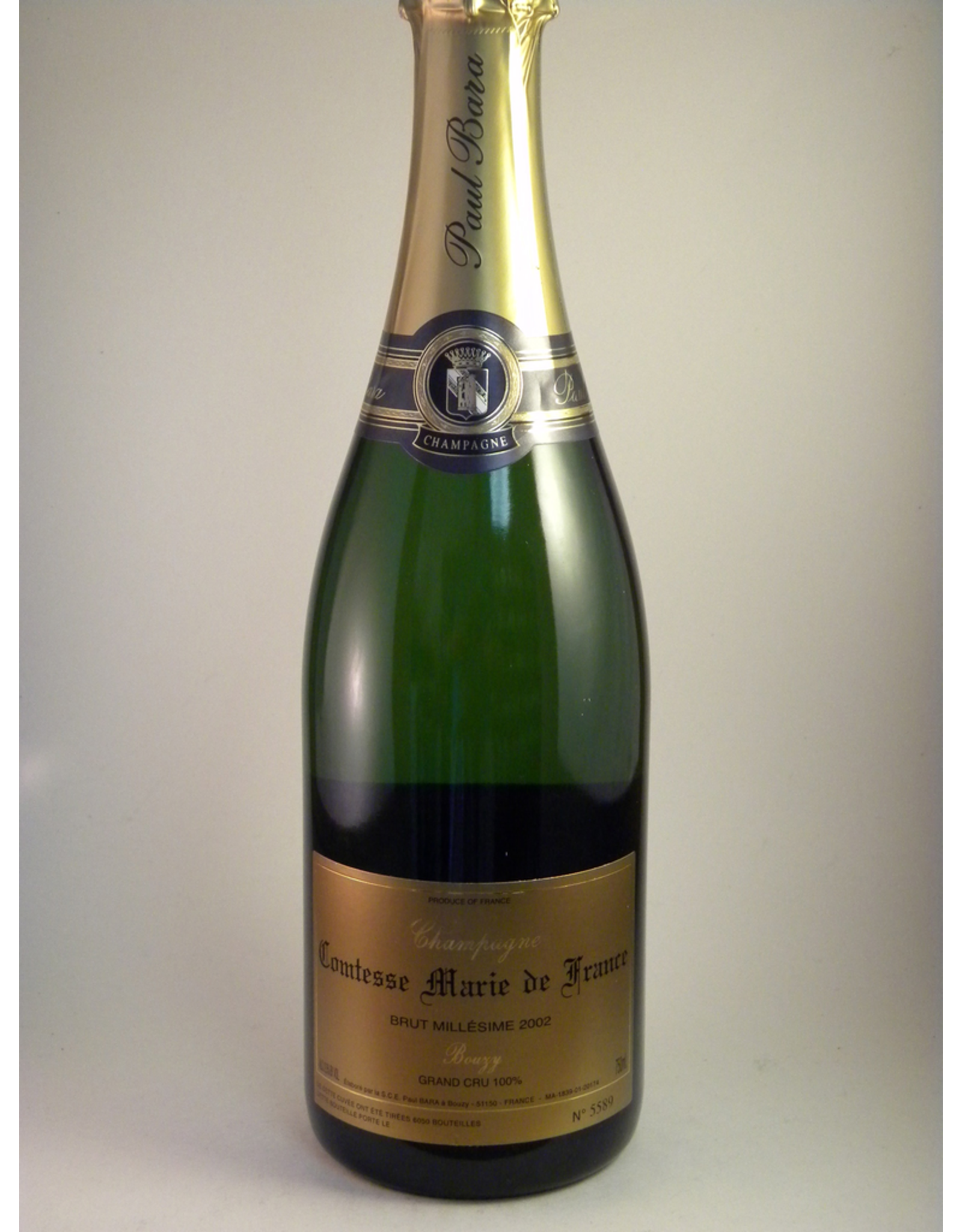 Paul Bara Champagne Comtesse Marie de France 2006