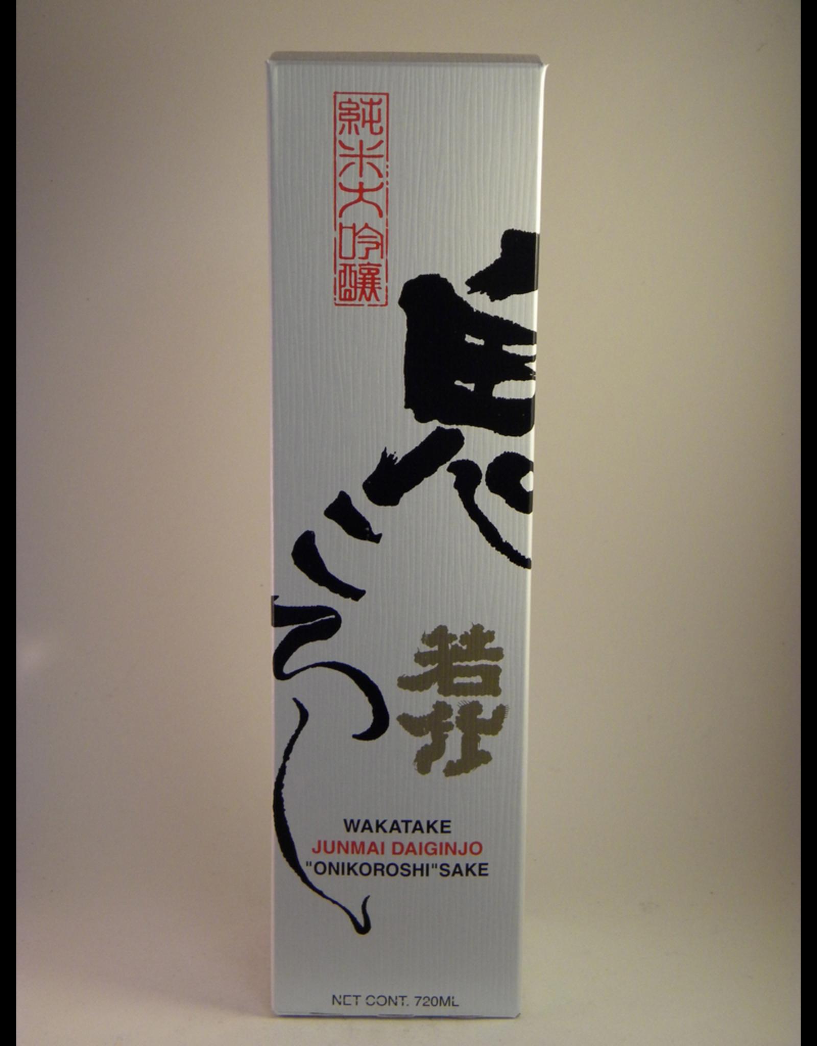 Wakatake Onikoroshi Daiginjo Sake 720ml