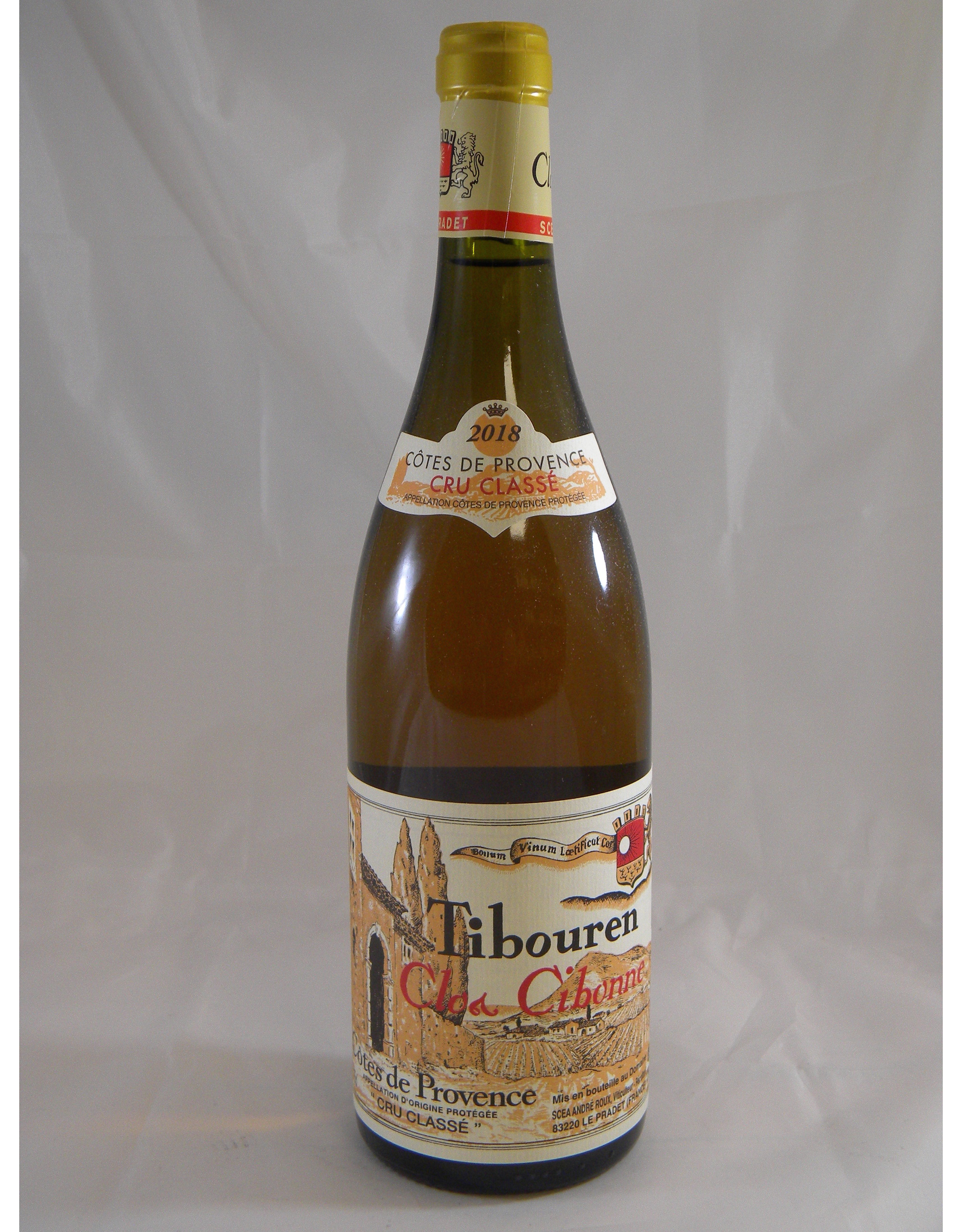 Clos Cibonne Clos Cibonne Rosé Tibouren Provence Tradition 2018