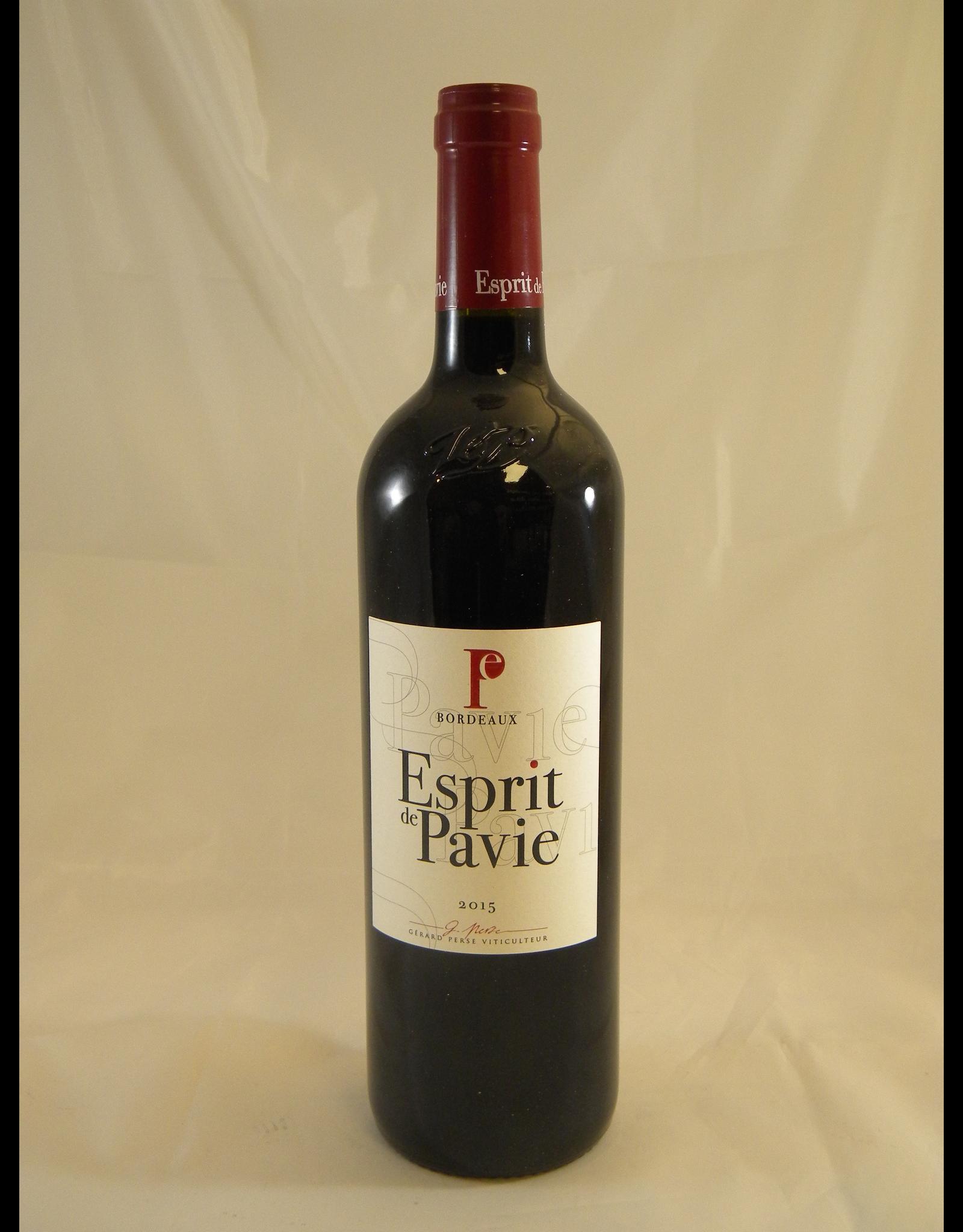 Pavie Esprit de Pavie Bordeaux 2015