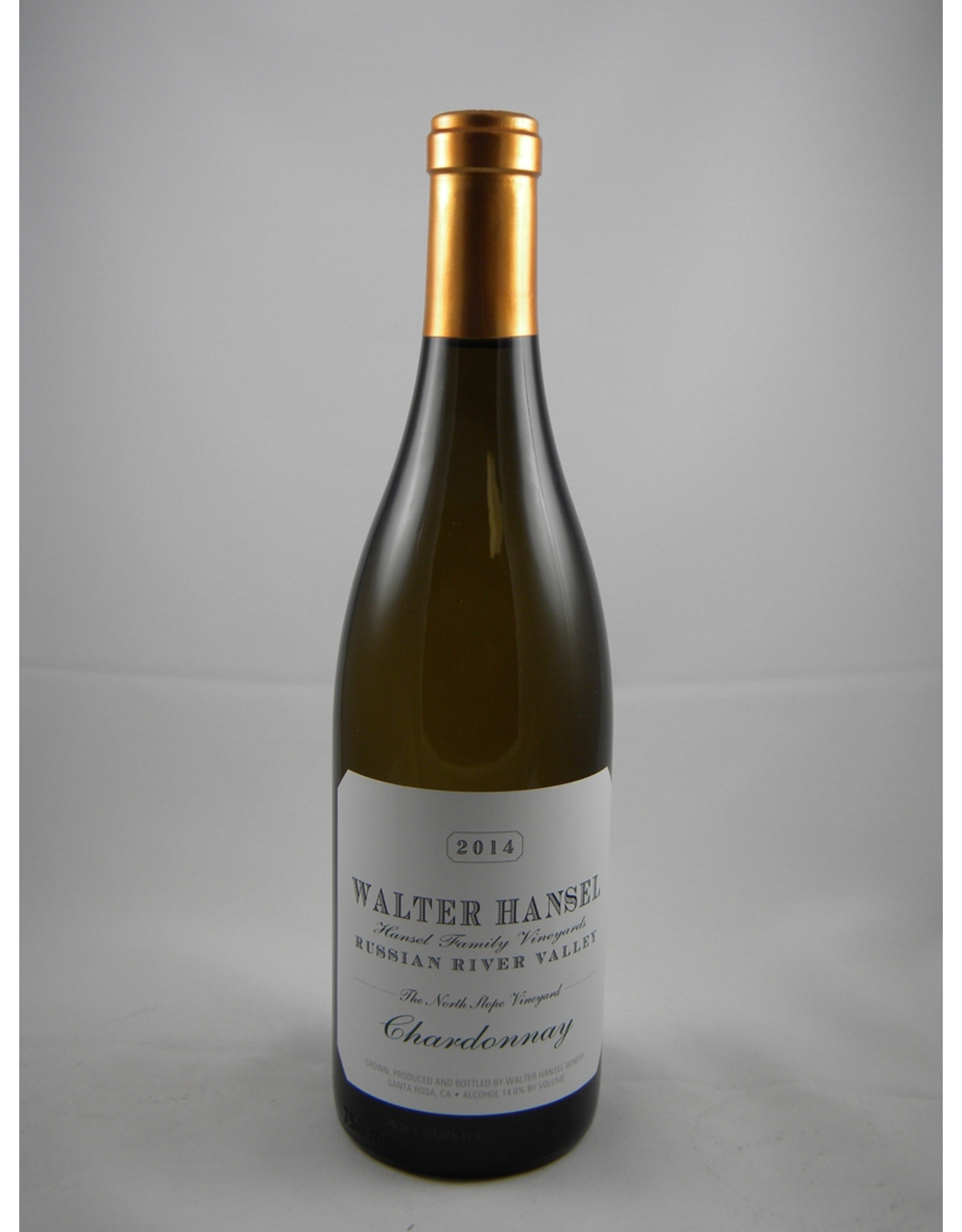 Walter Hansel Walter Hansel Chardonnay Russian River Valley North Slope Vineyard 2017