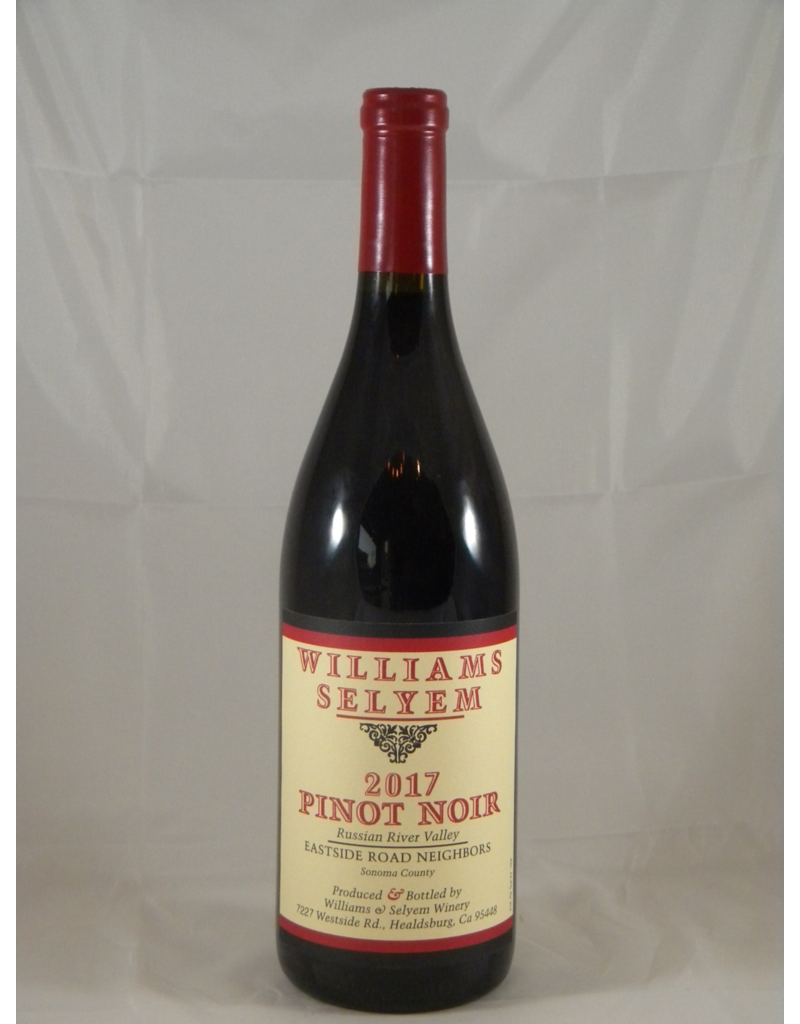 Williams Selyem Williams Selyem Pinot Noir Russian River Eastside Neighbors 2018