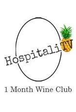 HospitaliTV Wine Club 1 Month