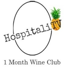 HospitaliTV Wine Club 1 Month
