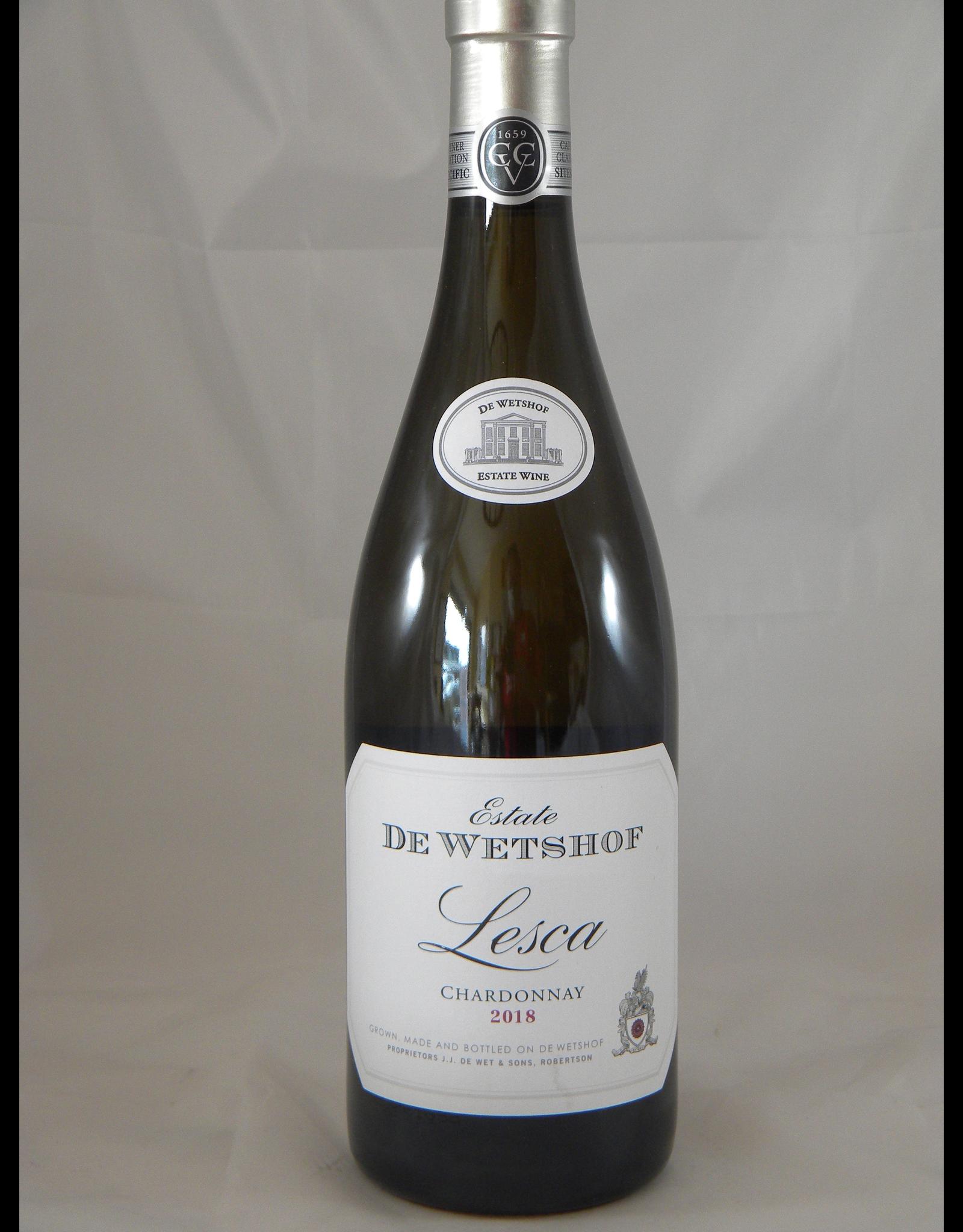 De Wetshof Chardonnay Robertson Lesca 2018