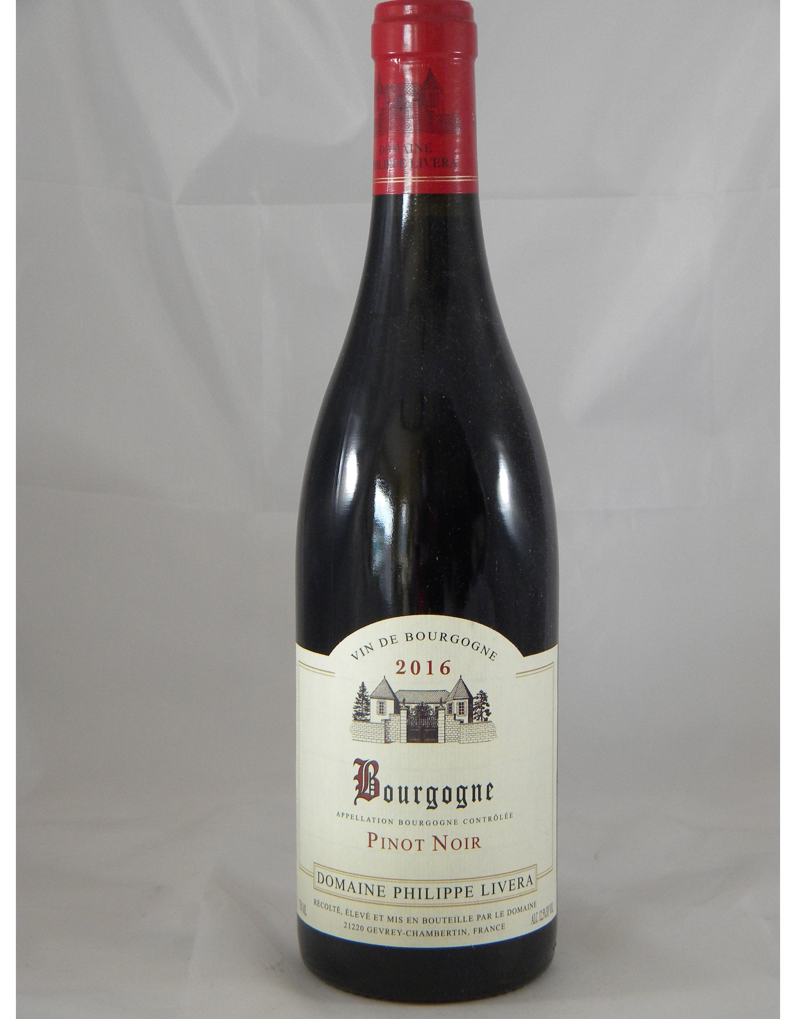 Livera Philippe Livera Bourgogne Rouge 2017