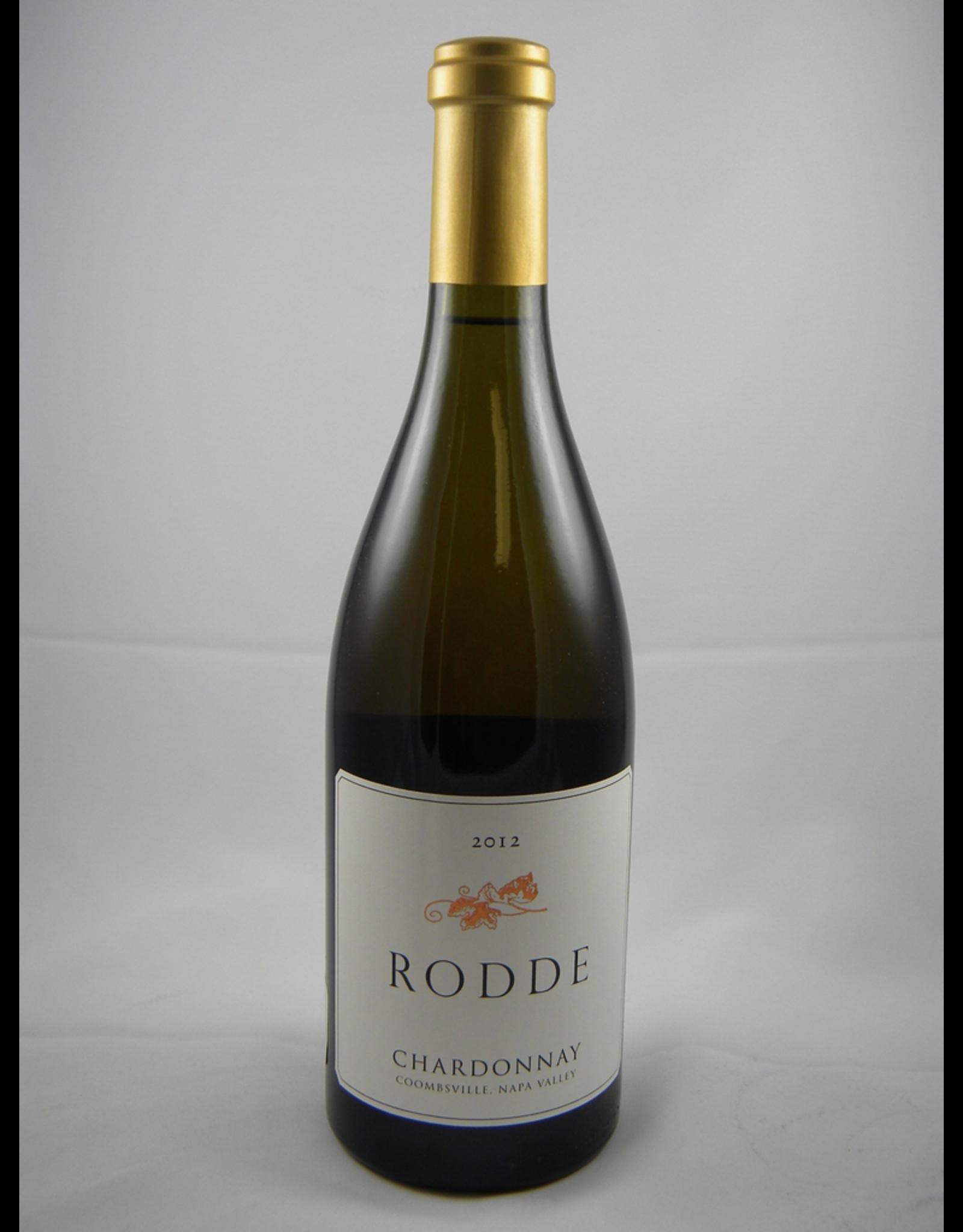 Rodde Chardonnay Napa 2015