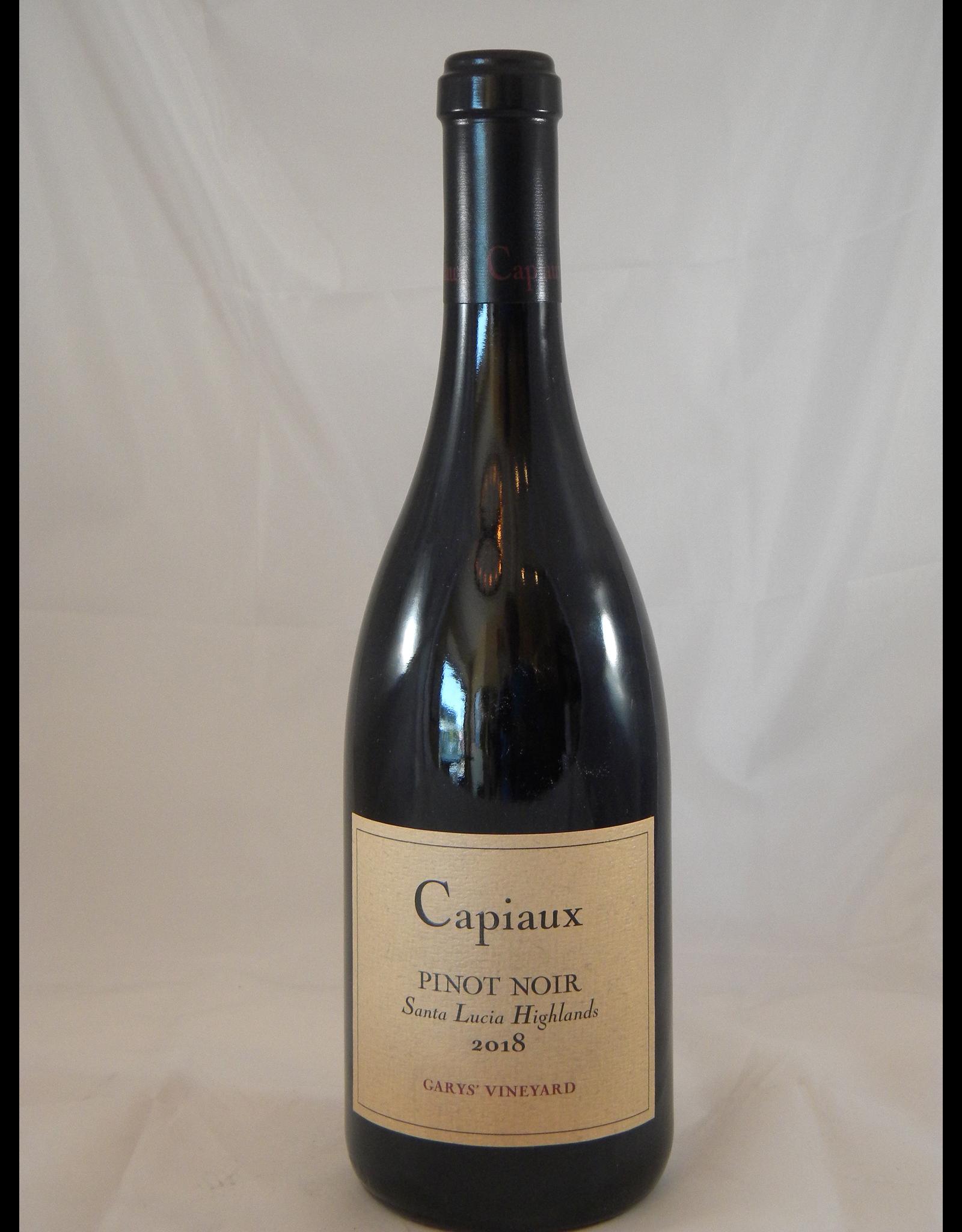 Capiaux Capiaux Pinot Noir Santa Lucia Highlands Gary's Vineyard 2018
