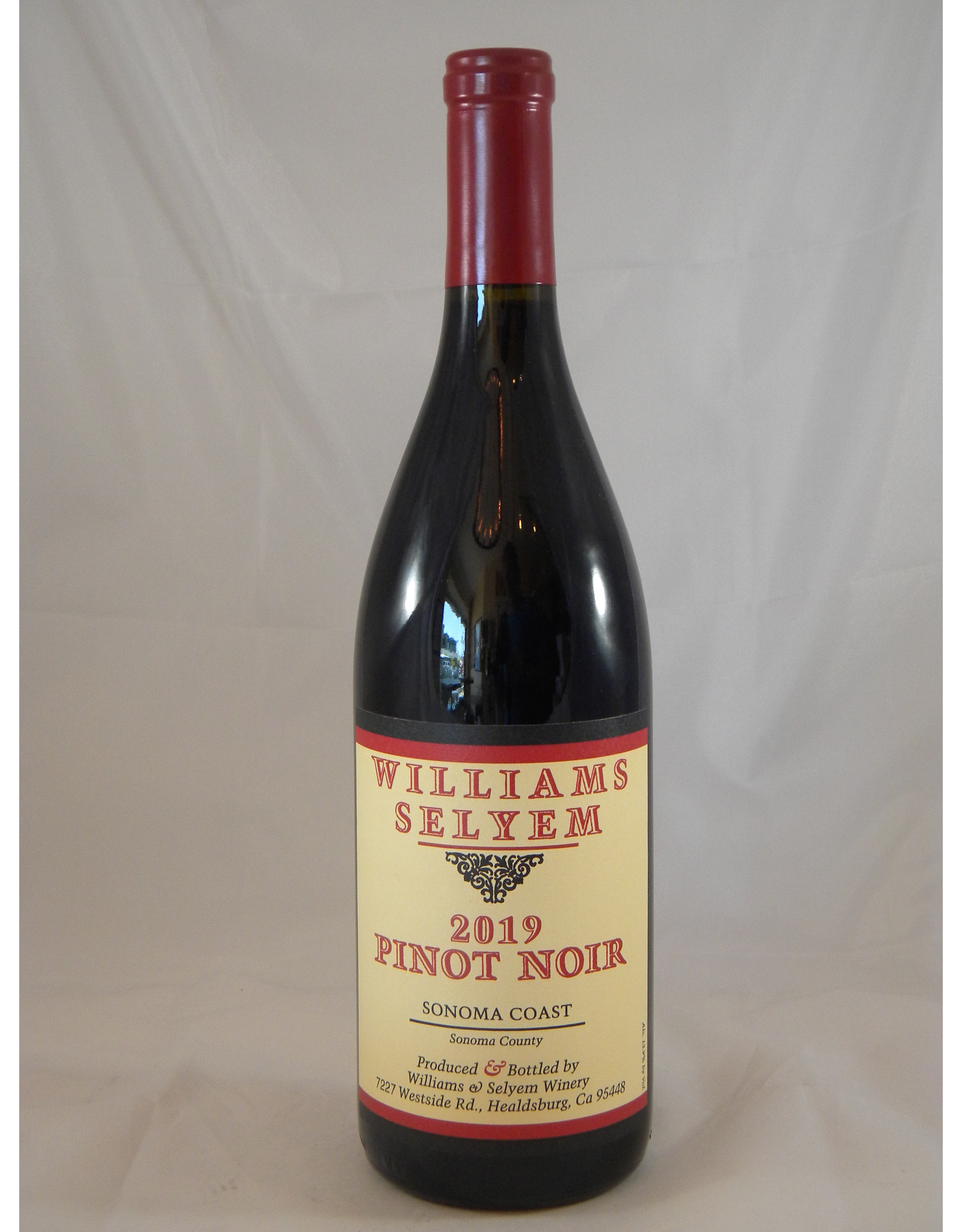 Williams Selyem Williams Selyem Pinot Noir Sonoma Coast 2019