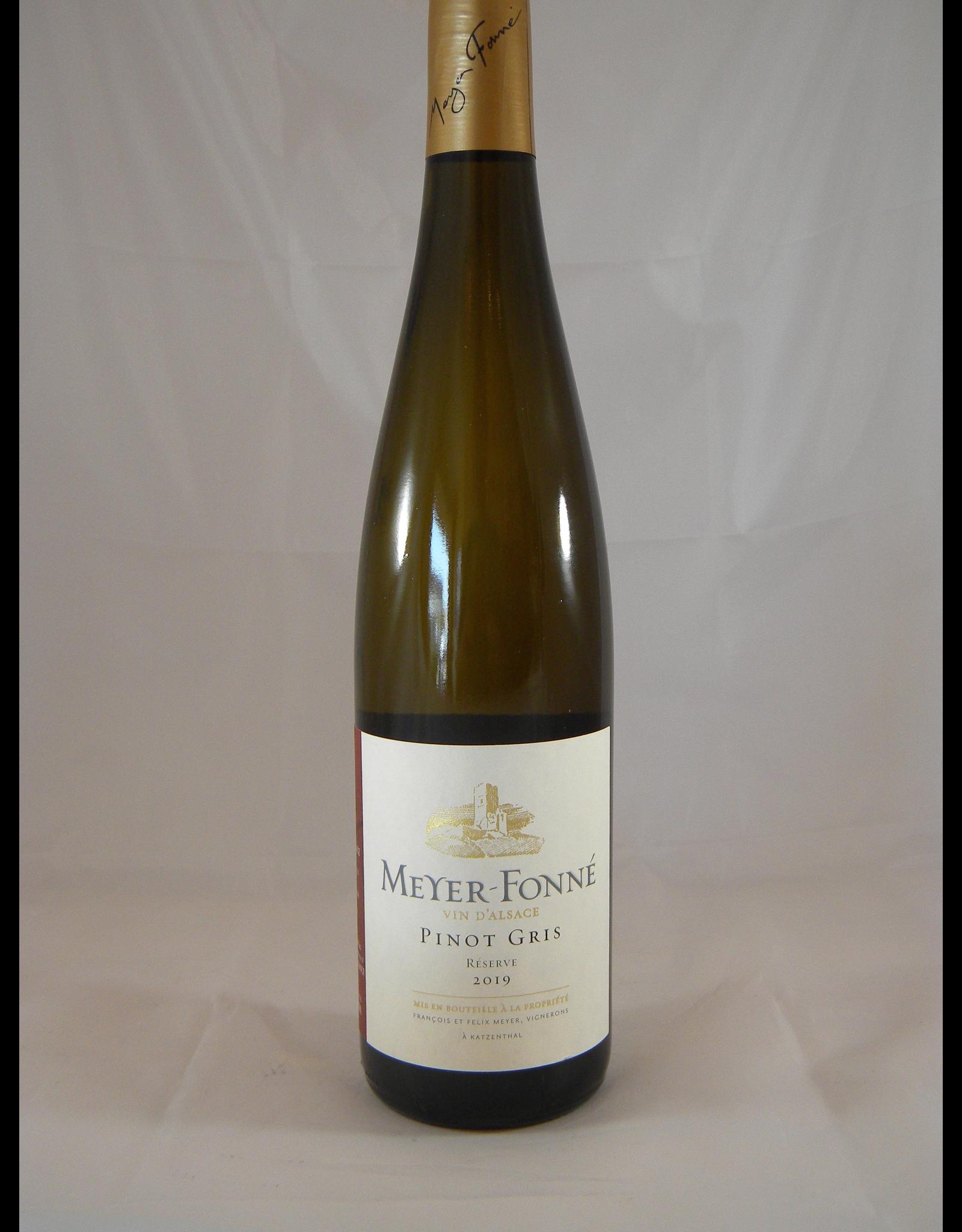 Meyer-Fonne Pinot Gris Reserve Alsace 2019