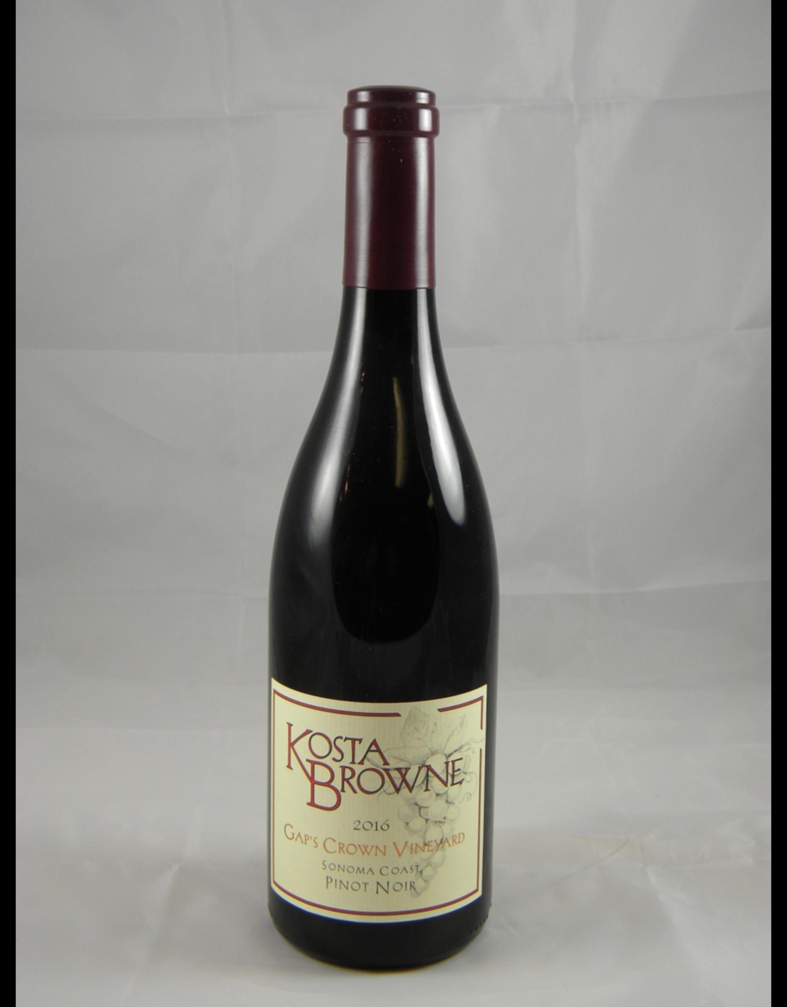 Kosta Browne Kosta Browne Pinot Noir Sonoma Gap's Crown 2017