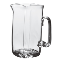 SIMON PEARCE WOODBURY GLASS PITCHER