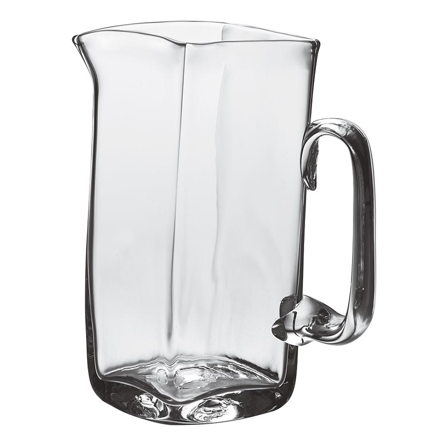 SIMON PEARCE SIMON PEARCE WOODBURY GLASS PITCHER