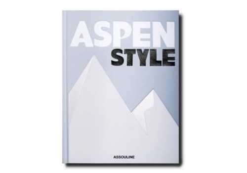 ASSOULINE ASPEN STYLE BOOK TRAVEL SERIES