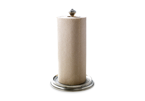 MATCH MATCH PEWTER PAPER TOWEL HOLDER