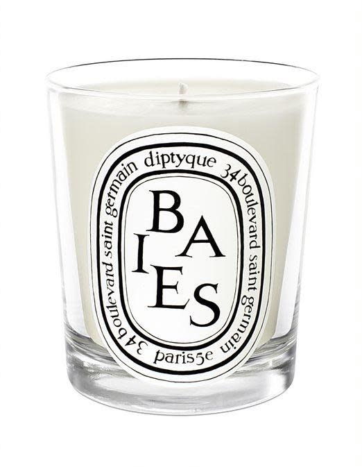 DIPTYQUE CANDLE BAIES BLACK CURRENT & ROSES