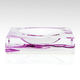 AVF LARGE MAGENTA SMOKE CANDY BOWL