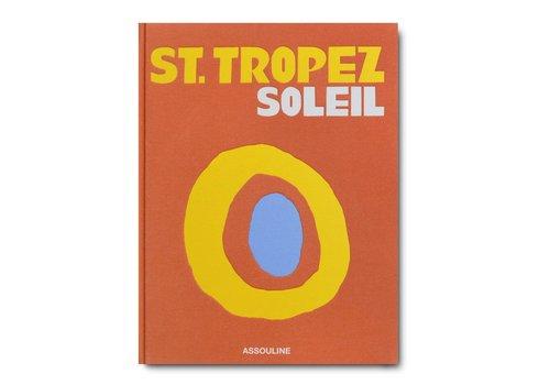 ASSOULINE ST. TROPEZ SOLIEL BOOK TRAVEL SERIES