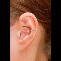 ANITA KO 18K SINGLE ROW DIAMOND EAR CUFF