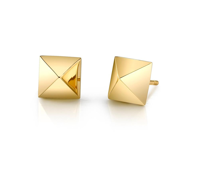 ANITA KO 18K YELLOW GOLD SPIKE STUD
