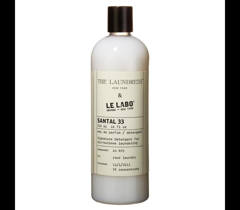 THE LAUNDRESS X LE LABO SANTAL 33 DETERGENT
