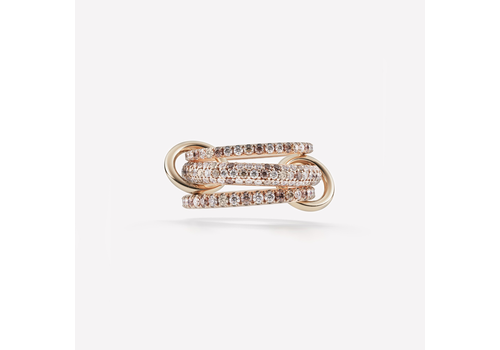 SPINELLI KILCOLLIN 18K ROSE GOLD NOVA ROSE RING
