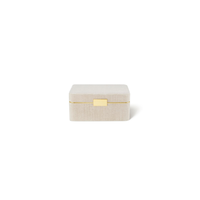 AERIN BEAUVAIS VELVET JEWELRY BOX IN LONDON FOG