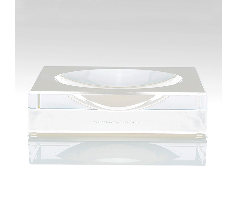 AVF LARGE VOLTAGE WHITE CANDY BOWL