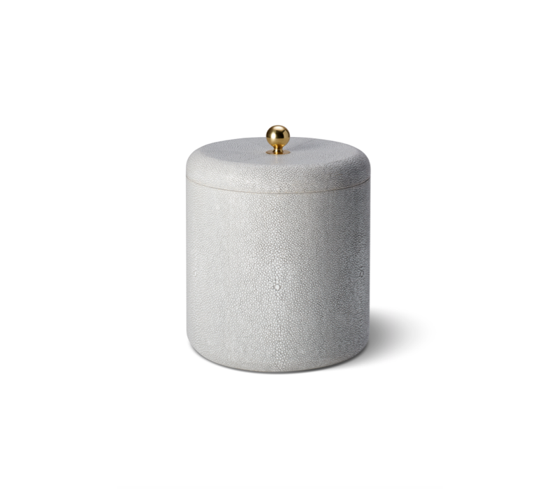 AERIN SHAGREEN ICE BUCKET DOVE