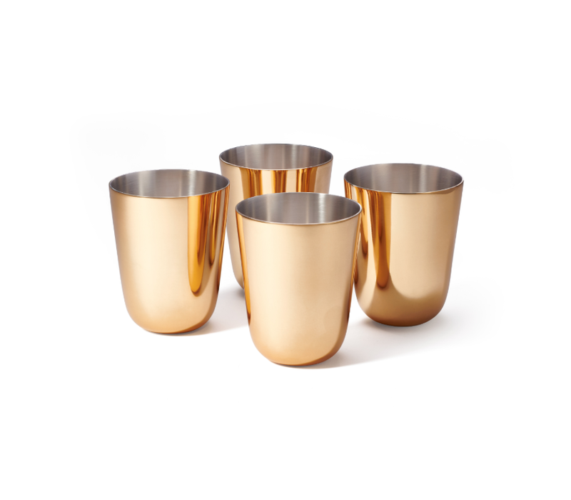 AERIN FAUSTO JULEP CUP, SET OF 4