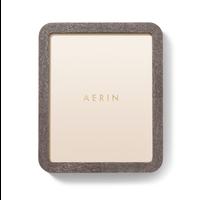 AERIN MODERN SHAGREEN FRAME CHOCOLATE 8X10