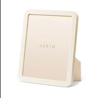 AERIN MODERN SHAGREEN FRAME CREAM 8X10