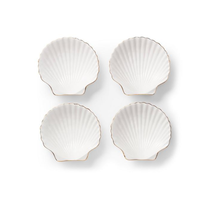 AERIN SHELL APPETIZER PLATES
