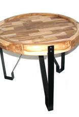 Coffee Table iron legs  60cm dia