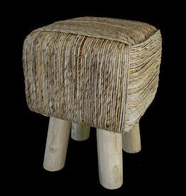 Stool Kubus abaca pony stool