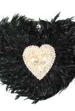 Heart juju  with shell 60cm, DC165