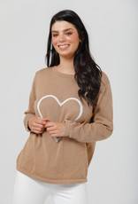 Brave & True BT5793 Petra Heart Knit