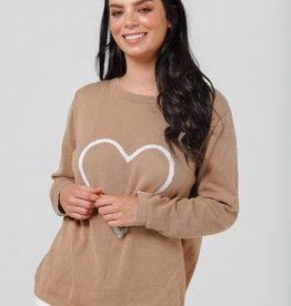 Brave & True Petra Heart Knit