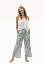 Linens Unlimited CLP210 BLOSSOM SKY BLUE PANTS